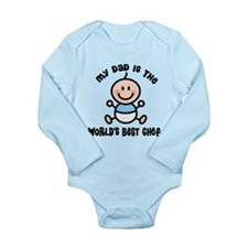 Best Chef Dad Long Sleeve Infant Bodysuit
