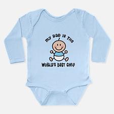 Best Chef Dad Long Sleeve Infant Bodysuit