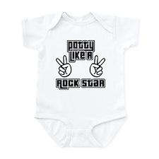 Potty Like A Rock Star Onesie