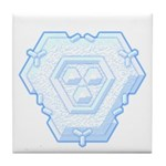 Flurry Snowflake IV Tile Coaster