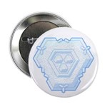 "Flurry Snowflake IV 2.25"" Button (10 pack)"