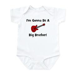 Gonna Be A Big Brother (guita Infant Bodysuit