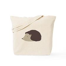Cartoon Porcupine Tote Bag