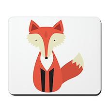 Cartoon Fox Mousepad