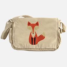 Cartoon Fox Messenger Bag