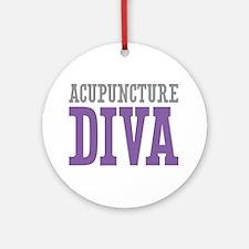Acupuncture DIVA Ornament (Round)