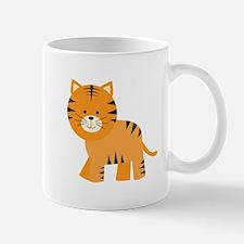 Cartoon Tiger Small Mug
