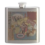 Cowgirl Flask Bottles