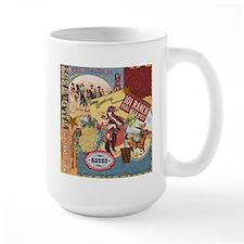 Vintage Western cowgirl collage Mug