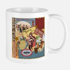 Vintage Western cowgirl collage Mug
