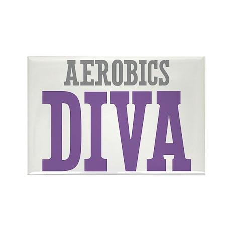 Aerobics DIVA Rectangle Magnet (100 pack)