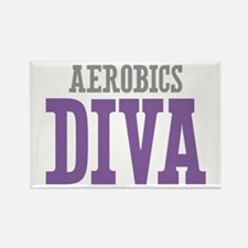 Aerobics DIVA Rectangle Magnet