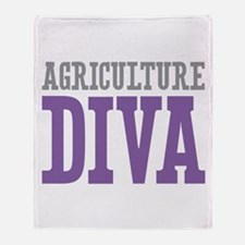 Agriculture DIVA Throw Blanket