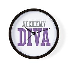 Alchemy DIVA Wall Clock