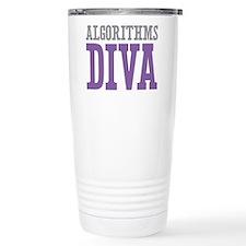 Algorithms DIVA Stainless Steel Travel Mug