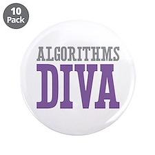 """Algorithms DIVA 3.5"""" Button (10 pack)"""