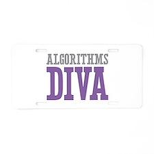 Algorithms DIVA Aluminum License Plate