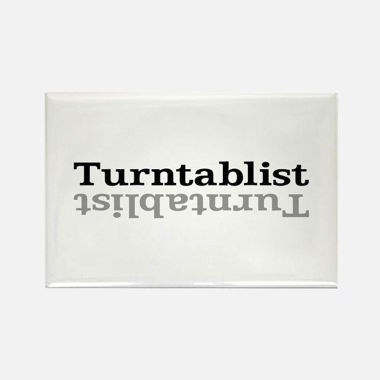 Turntablist Rectangle Magnet