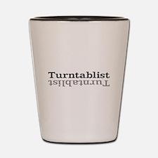 Turntablist Shot Glass