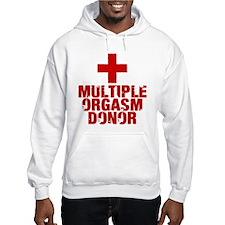 Multiple Orgasm Donor Jumper Hoody