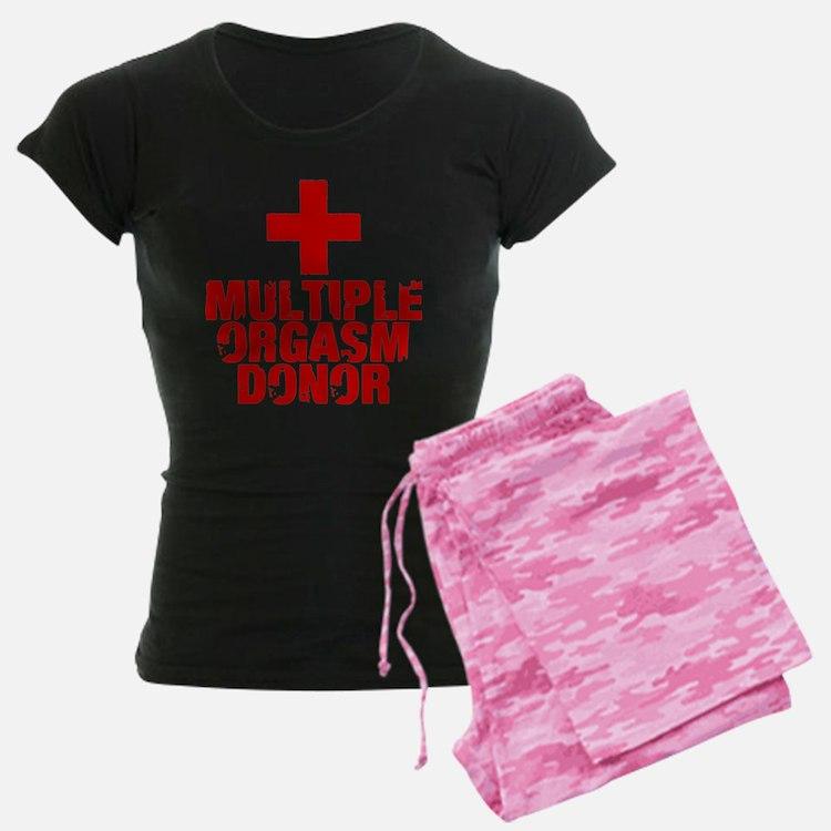 Multiple Orgasm Donor Pajamas