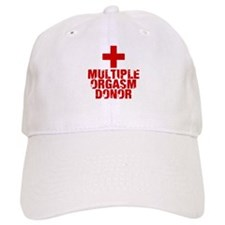 Multiple Orgasm Donor Baseball Cap