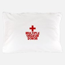 Multiple Orgasm Donor Pillow Case