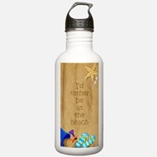 Rather be at Beach Water Bottle