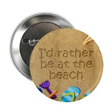 Rather be at Beach 2.25 Button