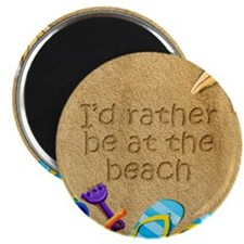 Rather be at Beach Magnet