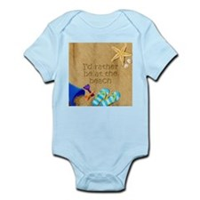 Rather be at Beach Infant Bodysuit