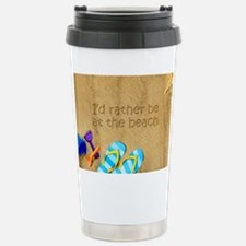 Rather be at Beach Stainless Steel Travel Mug