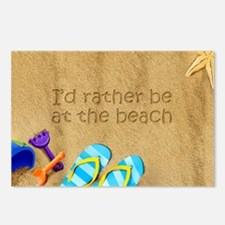Rather be at Beach Postcards (Package of 8)