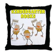 Kindergarten Rocks Throw Pillow