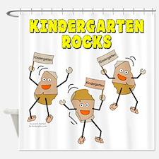 Kindergarten Rocks Shower Curtain