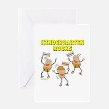 Kindergarten Rocks Greeting Card