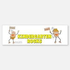 Kindergarten Rocks Bumper Bumper Sticker