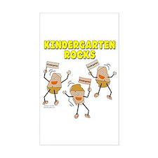 Kindergarten Rocks Decal