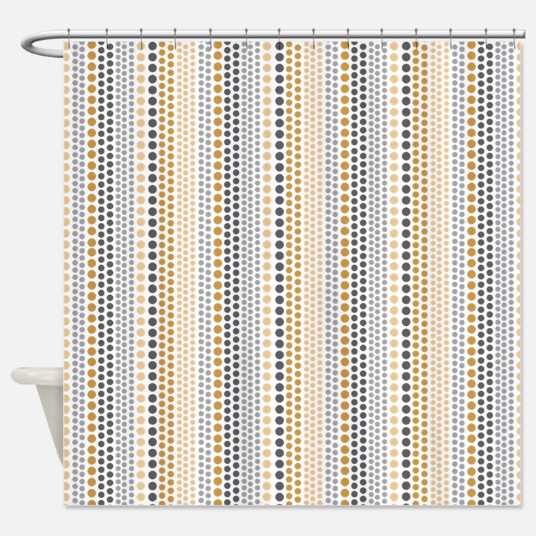Grey And Gold Shower Curtains Grey And Gold Fabric Shower Curtain Liner