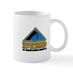 Dyno Mite Rock Climbing Graphic Mug
