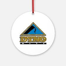 Dyno Mite Rock Climbing Graphic Ornament (Round)