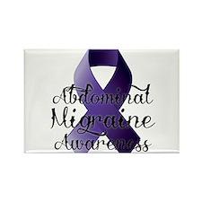 Abdominal Migraine Awareness Rectangle Magnet