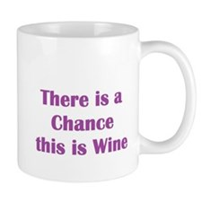 There is a chance this is wine Mug Mug