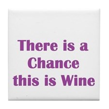 There is a chance this is wine Mug Tile Coaster