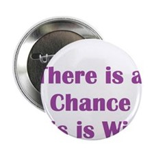 """There is a chance this is wine Mug 2.25"""" Button"""