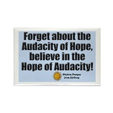 Hope of Audacity Rectangle Magnet