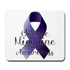 Chronic Migraine Awareness Mousepad