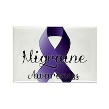 Migraine Awareness Rectangle Magnet