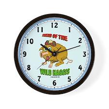 Haggis Clockface Wall Clock