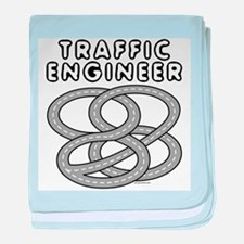 Traffic Engineer Interchange baby blanket